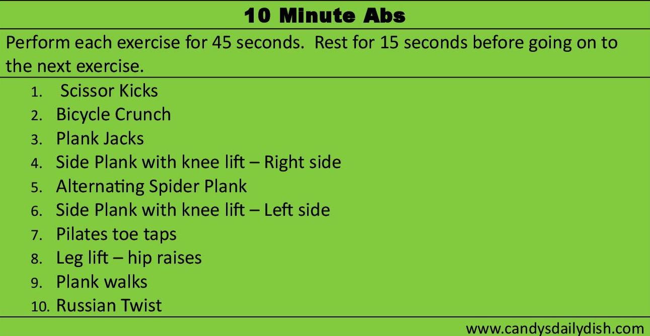 10 Minute Ab