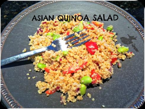 Asian Qinoa salad