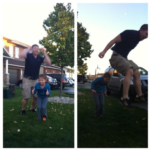 sean jumping